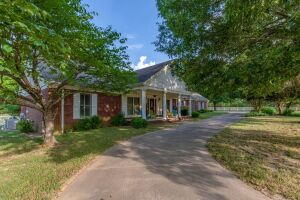 27 Acre Fenced Lakeland, TN Farm with 5000 sq.ft. Home