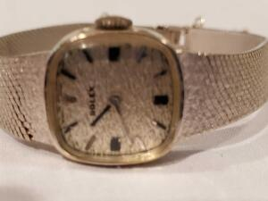 Vintage Rolex Watch, Sterling Silver, Silver Plate and More