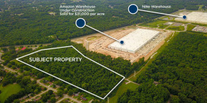 30.93 Acres Next to Memphis Amazon & Nike Facilities