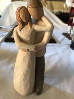"Willow Tree Together figurine. 8"" tall."