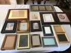 Large selection of beautiful picture frames.