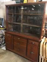 Retro Style Vintage Cabinet - unique! Overall good condition with some cleaning