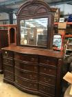 Liberty Furniture Solid Wide Dresser Plus mirror