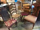 Lot of 5 Misc. Chairs