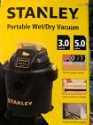Excellent Used Condition Stanley 5 Gallon Shop vac