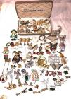 Costume Jewelry Brooches and Pin Lot