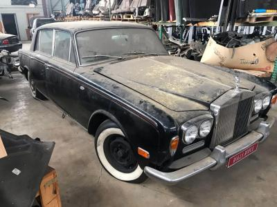 1971 Roll Royce Silver Shadow-Does Not Run, Does not have title