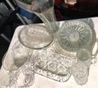 Clear Glass, Crystal Lot