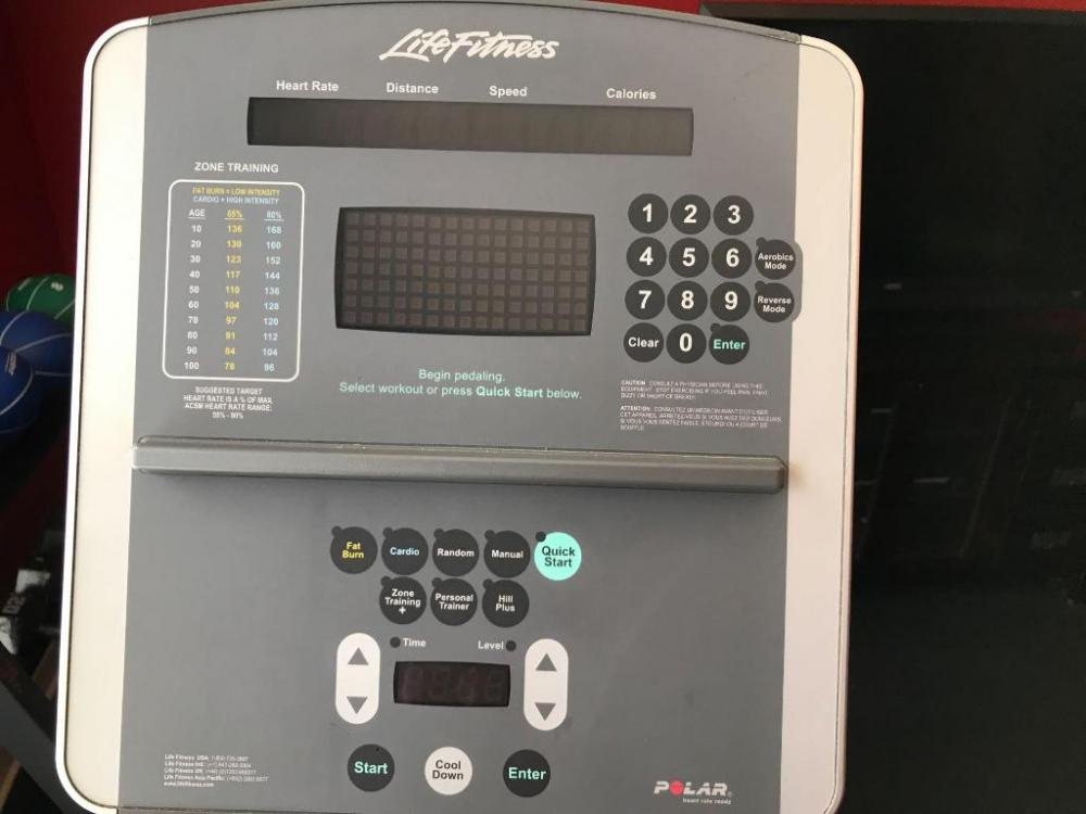 Life fitness commercial 95xi elliptical  Note large size*