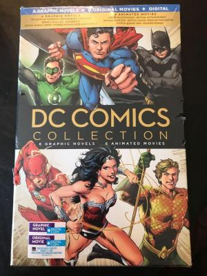 DC Comics Collection unopened. MSRP $144.99