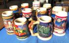 11 Budweiser Beer Steins - all are in excellent condition!