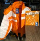TN Vols Puffy Coat with tags (Sz M) and a Tshirt still in plastc (Sz L)