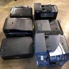 6 Printers - they work but need power cords and ink