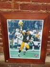 Autographed Brett Favre picture with certificate of authenticity