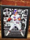 Autographed picture of John Elway, with certificate of authenticity