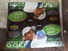 3 box lot of 2003 Upper Deck Golf