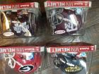 FOUR College Riddell mini helmets