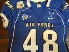 Game worn Air Force Jersey, with authentication