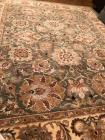 100% wool area rug made in India 8' x 10'