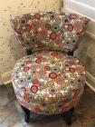 Upholstered retro chair