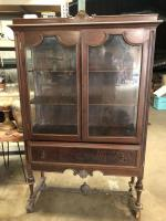 Antique China Cabinet - very pretty