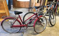 Free Spirit Touring Bike and Mongoose Mountain Bike