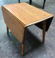 Solid Wood Drop Leaf Table in overall good condition!