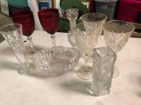 Crystal and Cut Glass Lot