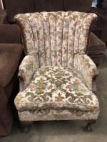 OLD Queen Anne Style Chair