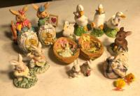 Little Bunnies and Duck Decor