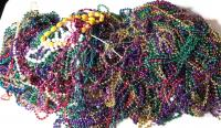 TONS of Mardi Gras Beads
