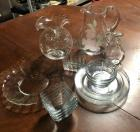 Hodge Podge Clear Glass Lot