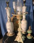 5 OLD Lamps - not tested!