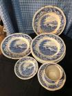 "Small lot of ""Silverdale"" Hanley England dishes"