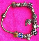 Pandora Bracelt with charms included!!
