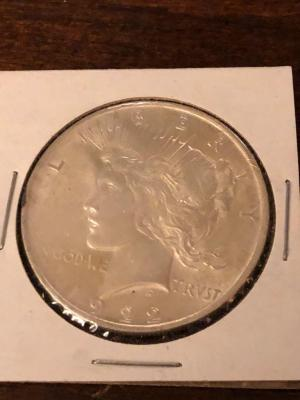 1922 Morgan Silver Dollar