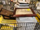 Collection of picture frames in individuals boxes (Shopping cart not included)