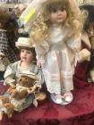 Two Boyds collection Limited edition Yesterdays child porcelain dolls
