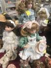 Three Boyds collection Limited edition Yesterdays Child porcelain dolls