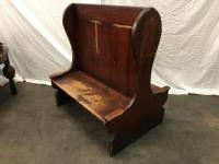 Double Sided Wooden Pub Booth