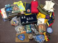 Boy Scout Lot - lots of various items!