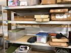 8' x 3', 7' tall wood/metal adjustable shelving - PICK UP WILL BE AFTER GENERAL PICK UP DATE!!