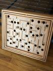 Wooden game box, does not have marble