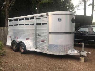 16ft 2004 W-W Four Horse Trailer