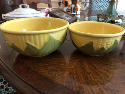 Pair of Swanee bowls, #6 and 8