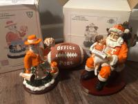 "University of Tennessee collectibles, limited edition ""Wishlist Santa"" and ""Snowman Cheer"""