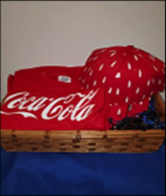 Branded Coke Hat & T-Shirt - Value $30