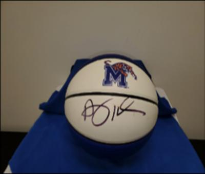The University of Memphis Athletics Department - Autographed Penny Hardaway Memphis Tigers Basketbal