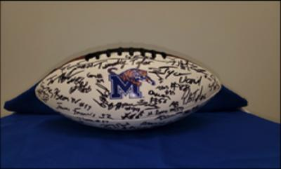 The University of Memphis Athletics Department - Football signed by 2018 team