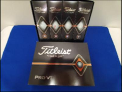 Malco Theatre - Titleist Golf Balls 4-Pack Value $40